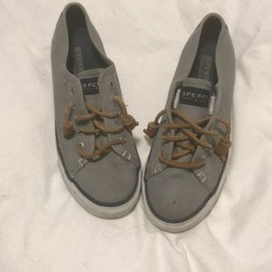 Sperry slid ons- size 6